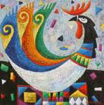 Abduahat Muratbaev. Happy Rooster